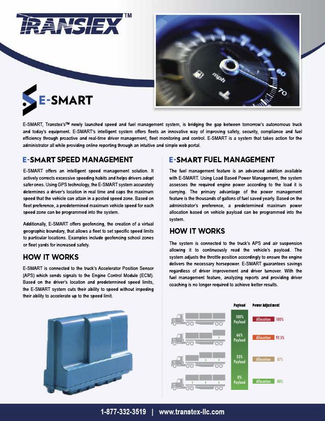 Document: E-SMART Product Flyer